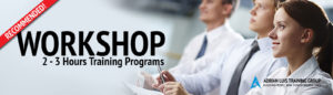 2 Hours Workshop Training Programs