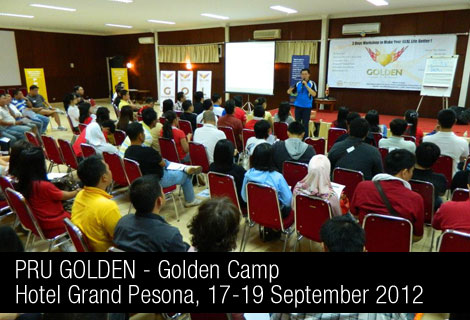 Golden Camp - 17-19 September 2012