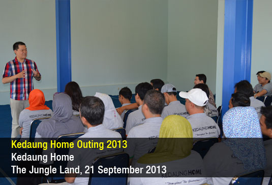 Kedaung Home Outing 2013
