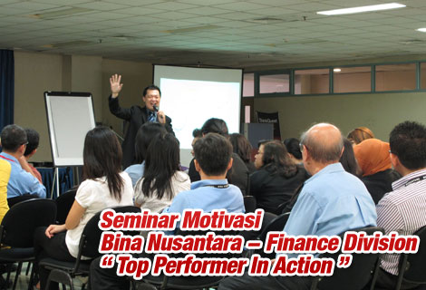 Bina Nusantara Finance Division – 5 Desember 2011