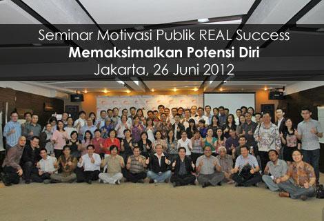 Seminar Memaksimalkan Potensi Diri - 26 Juni 2012