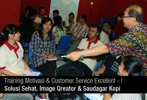 Customer Service Excellent 1 : Solusi Sehat, Image Qreator, Suadagar Kopi