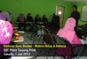 Seminar Guru BimBel - Makna Hidup & Bekerja