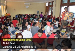Refreshment Camp - D Art Beat - Agustus 2013
