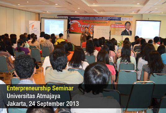 Seminar Bisnis Atmajaya 2013