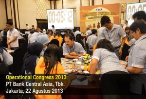 BCA Operational Congress - Agustus 2013