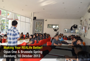 Making Your REALife Better - Opus One - Okt 2013