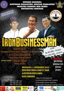 Seminar Bisnis di Udayana Bali
