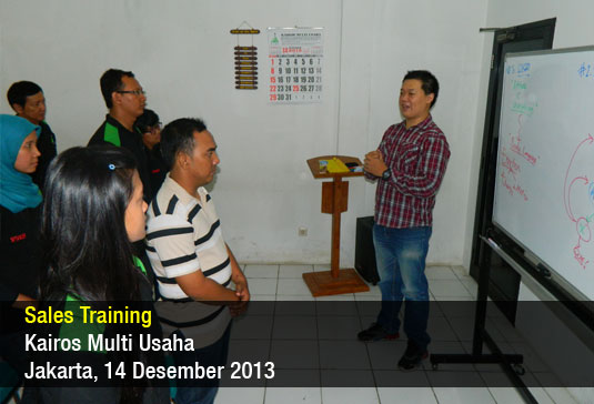 Sales Training – Kairos Multi Usaha – Desember 2013